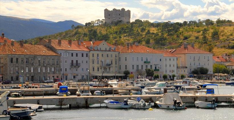 Город Сень в Хорватии
