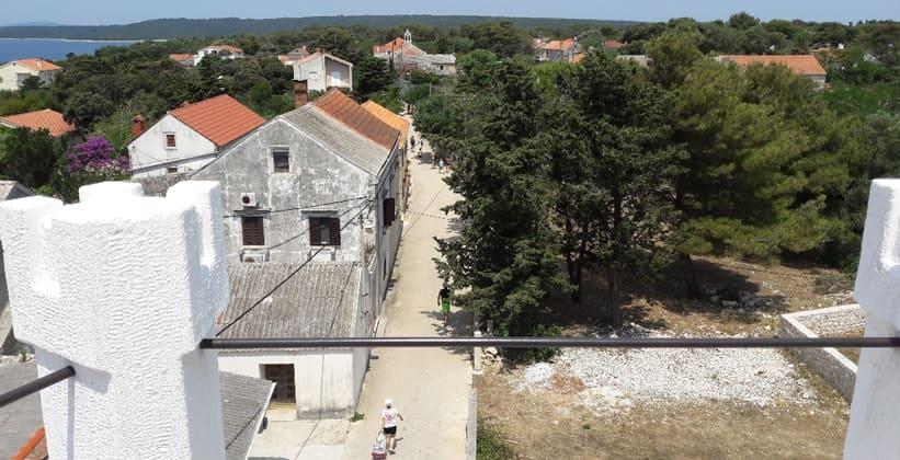 Город Силба в Хорватии