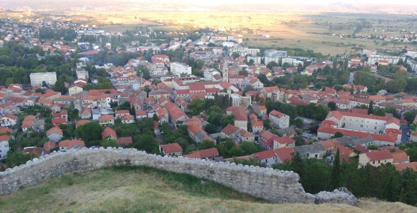 Город Синь в Хорватии