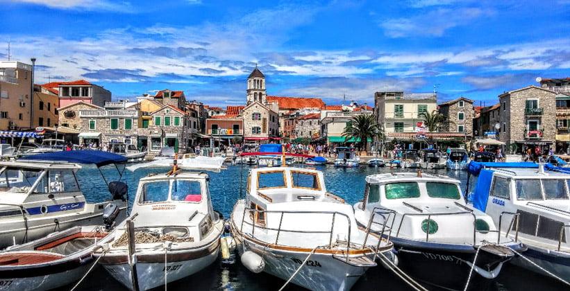 Город Водице в Хорватии