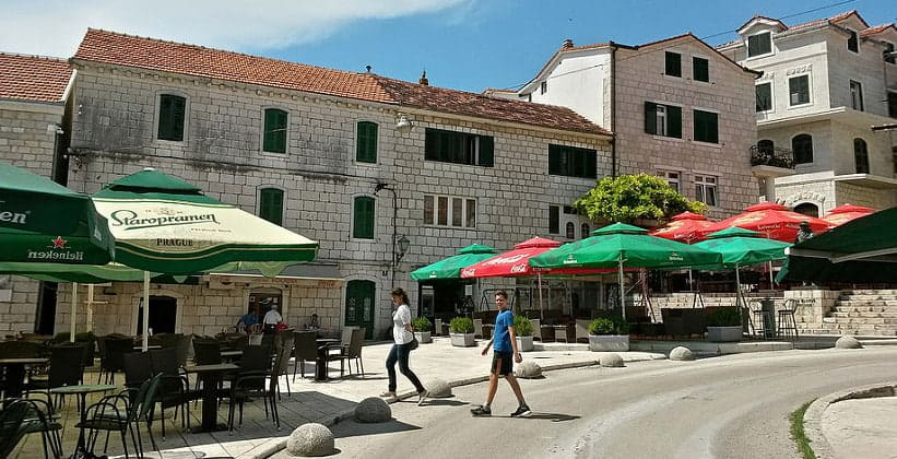 Городок Имотски в Хорватии