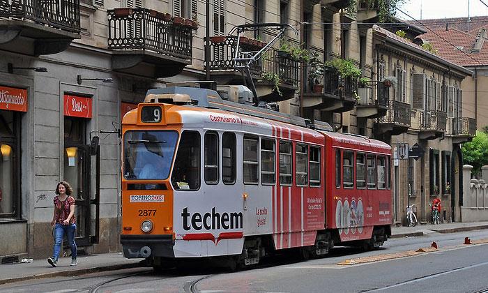 Городской трамвай Турина