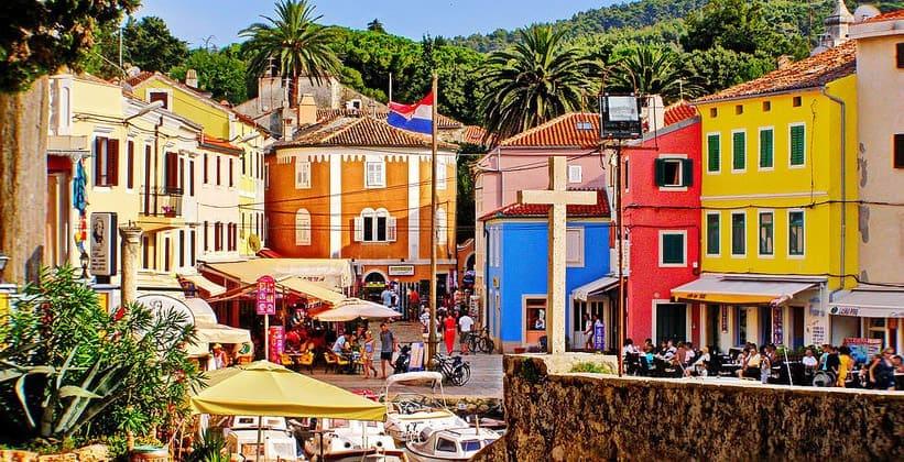 Красоты города Вели-Лошинь (Хорватия)