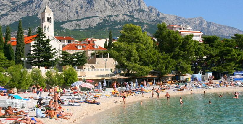 Курорт Башка-Вода в Хорватии