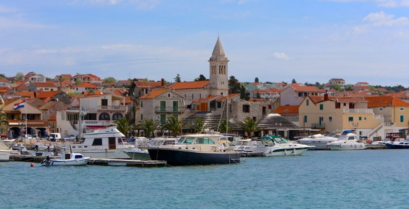 Курорт Пакоштане в Хорватии