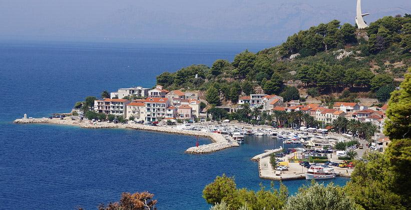 Курорт Подгора в Хорватии