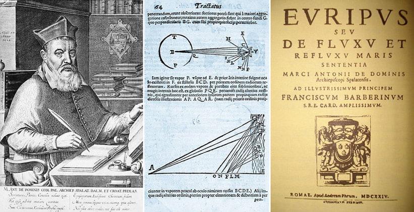 Марк Антоний де Доминис и его труды