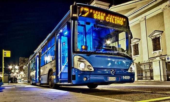 Муниципальный автобус города Триест