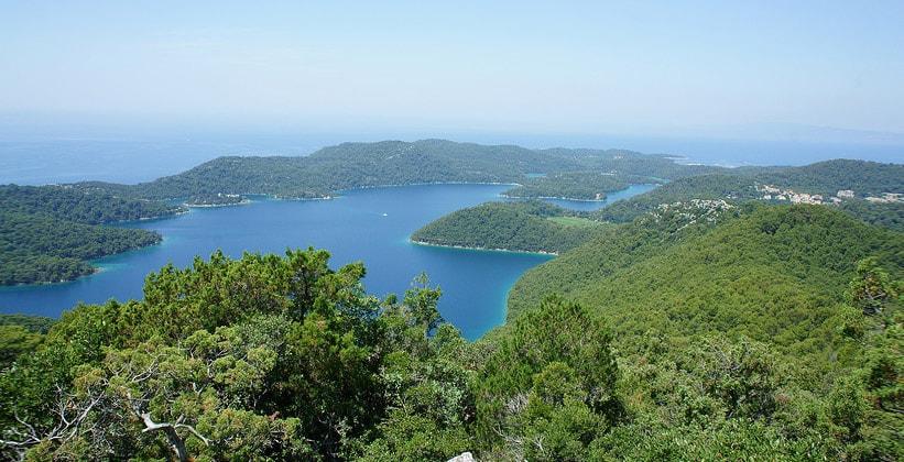 Национальный парк Млет в Хорватии