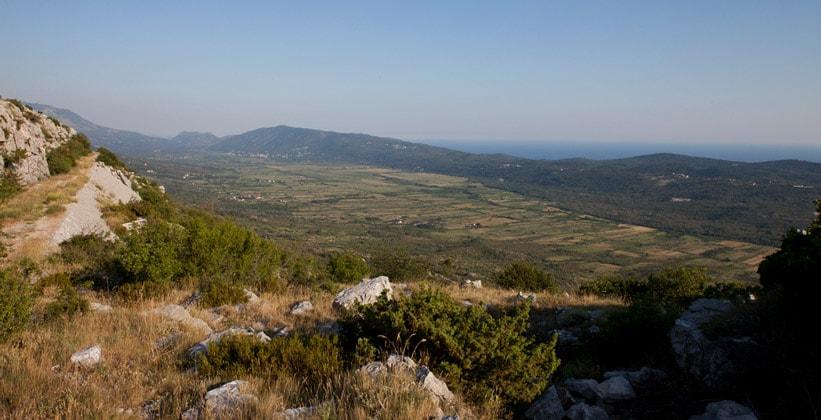 Область Конавле в Хорватии