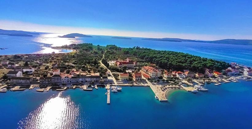 Остров Крапань в Хорватии
