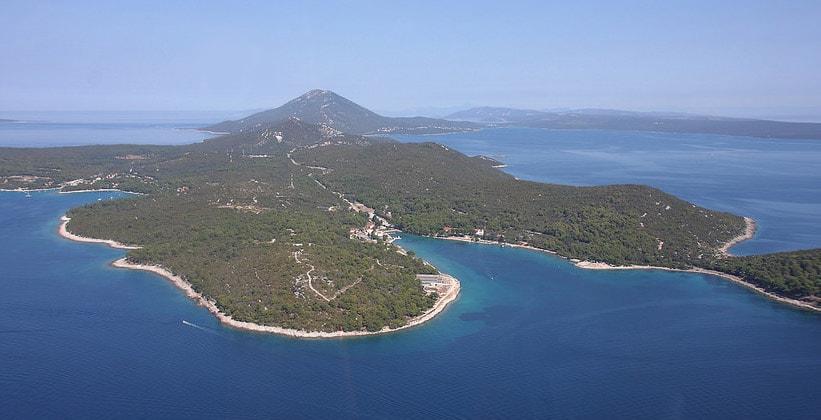 Остров Лошинь в Хорватии