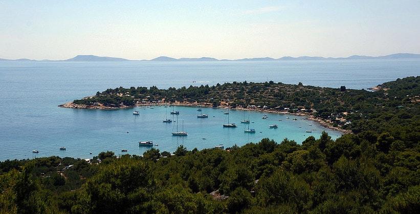 Остров Муртер в Хорватии
