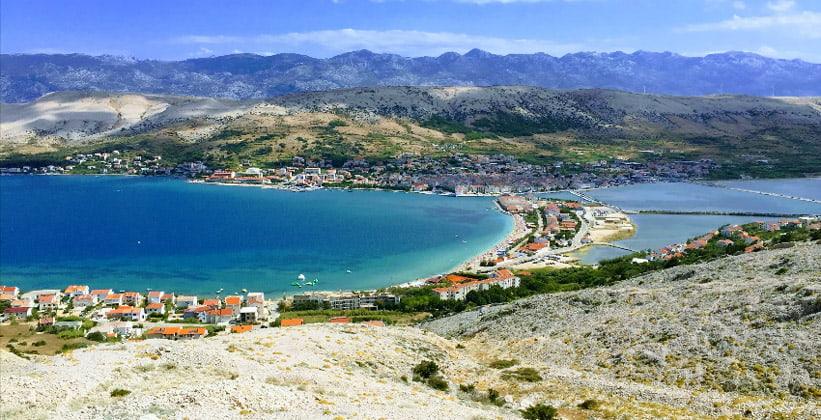 Остров Паг в Хорватии