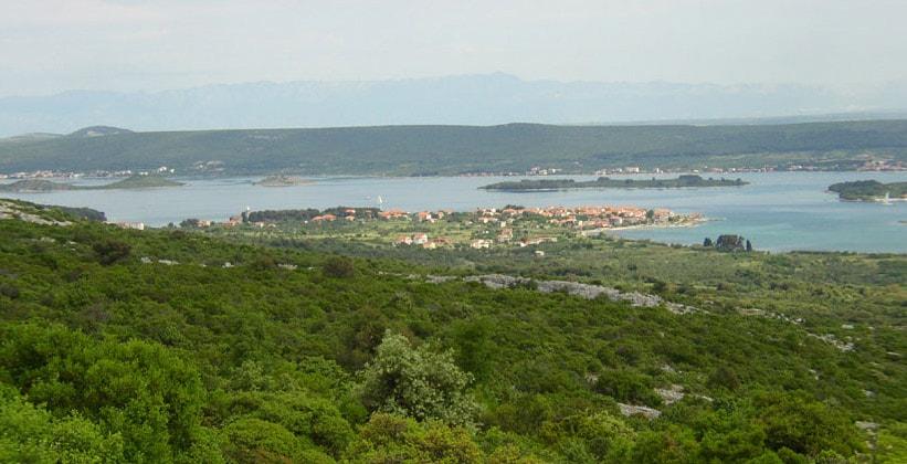 Остров Пашман в Хорватии