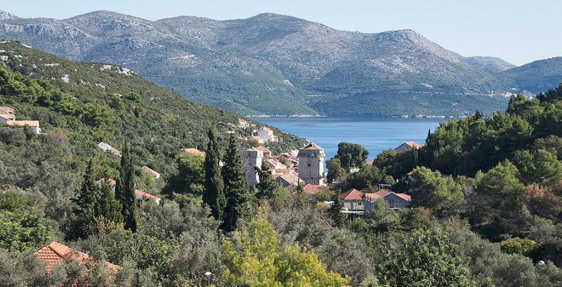 Остров Шипан в Хорватии