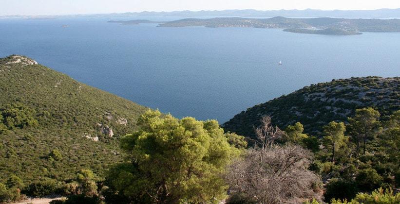 Остров Углян в Хорватии