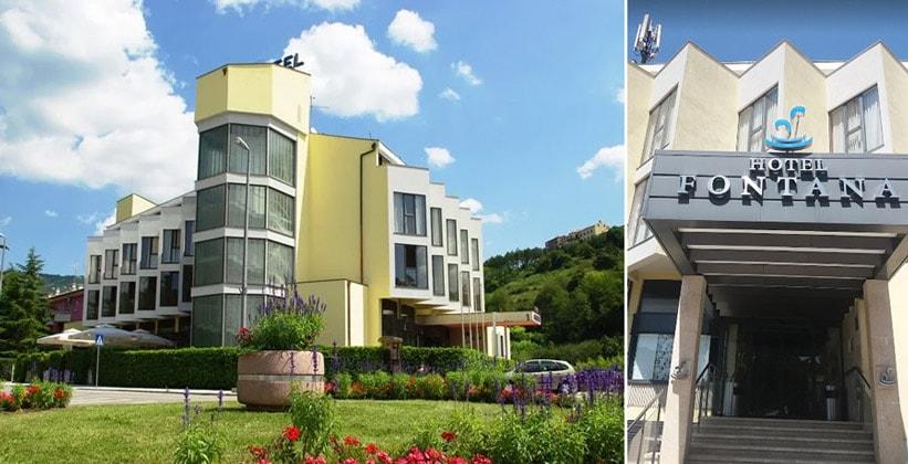 Отель Fontana в Бузете (Хорватия)