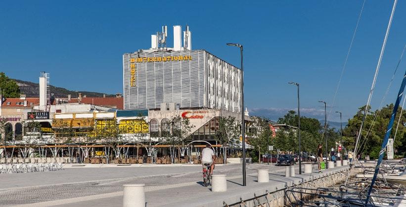 Отель International в городе Цриквеница (Хорватия)