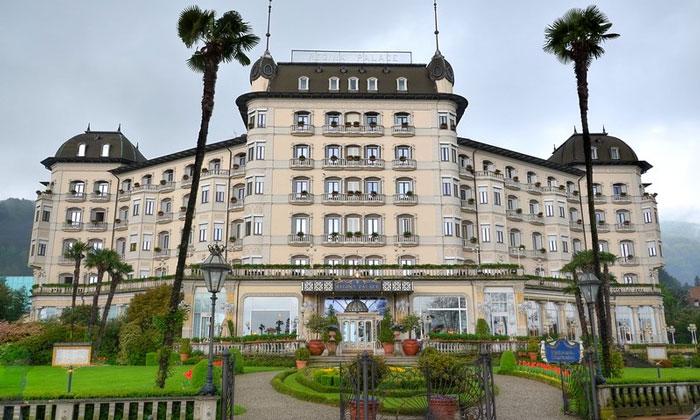 Отель Regina Palace в городе Стреза