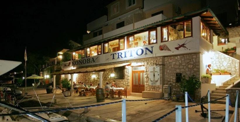 Отель-ресторан Triton в Заклопатице (Хорватия)