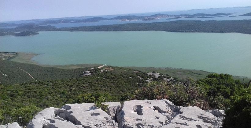 Вранское озеро в Хорватии