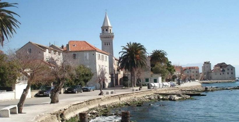 Поселение Каштел-Штафилич в Хорватии