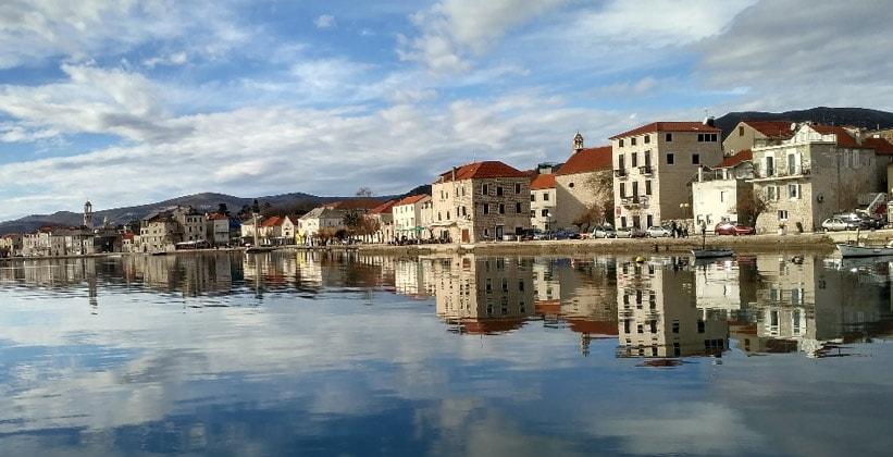 Поселение Каштел-Стари в Хорватии