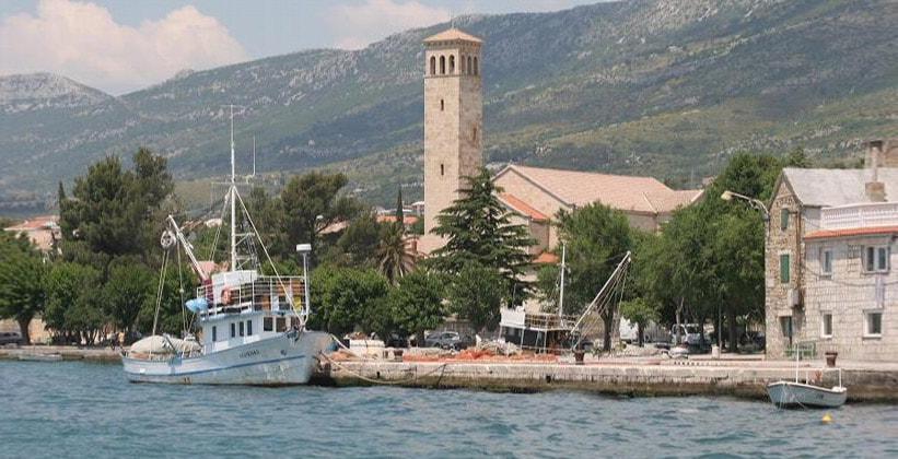 Поселение Каштел-Сучурац в Хорватии