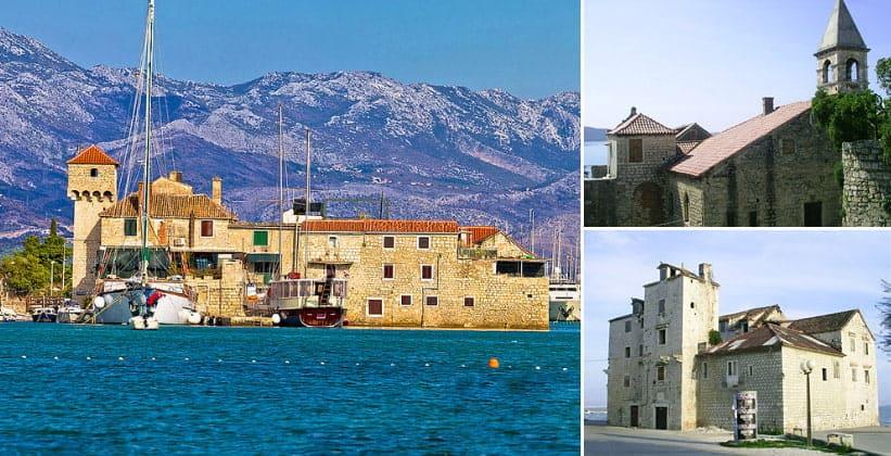 Поселения Каштела в Хорватии