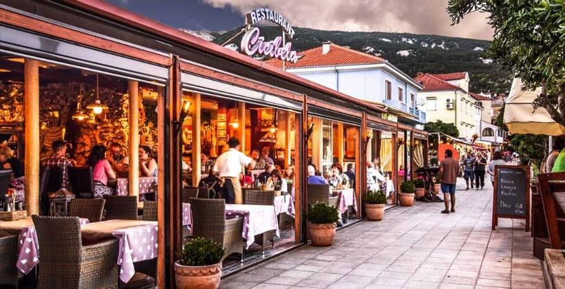 Ресторан Cicibela в Башке (Хорватия)