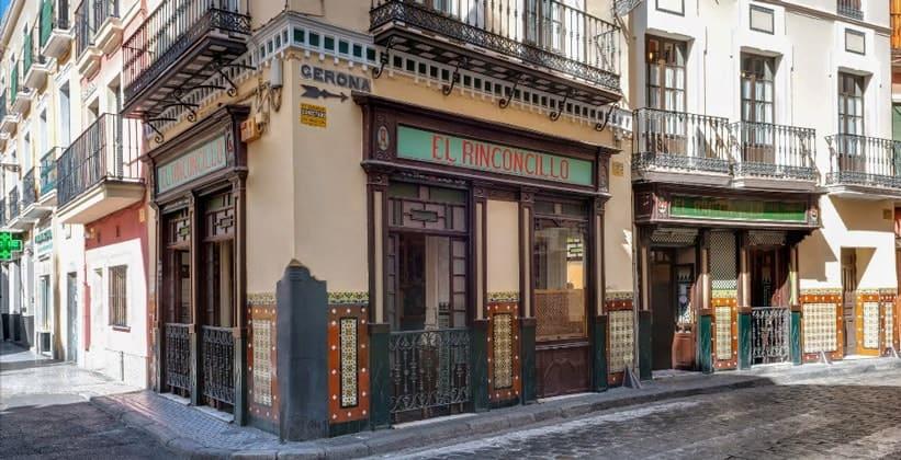 Ресторан El Rinconcillo в Севилье (Испания)