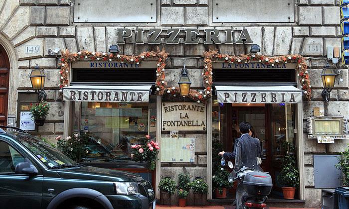 Ресторан-пиццерия La Fontanella в Риме