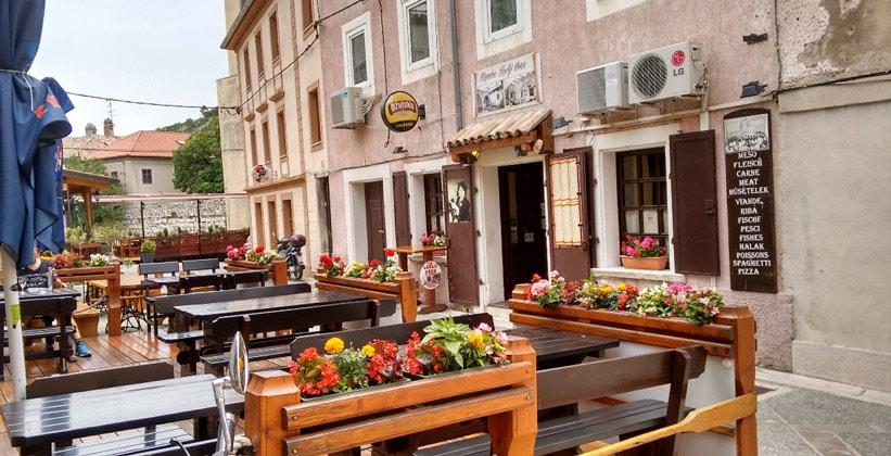 Ресторан Lavlji Dvor в городе Сень (Хорватия)