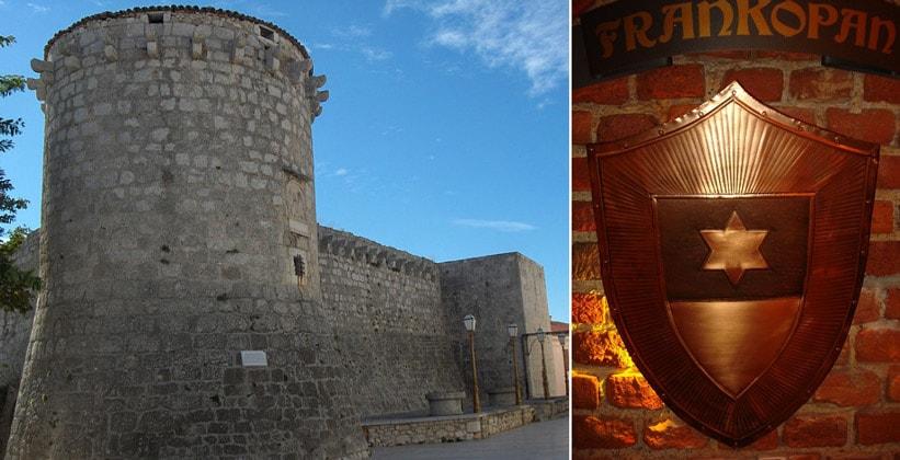 Замок Франкопанов в городе Крк
