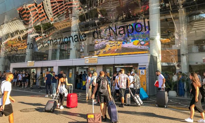 Международный аэропорт Каподикино в Неаполе