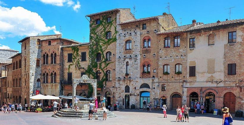 Архитектура Сан-Джиминьяно (Италия)