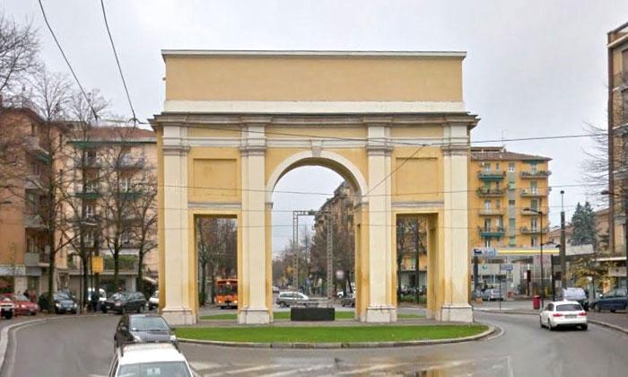 Триумфальная арка Сан-Лаззаро в Парме