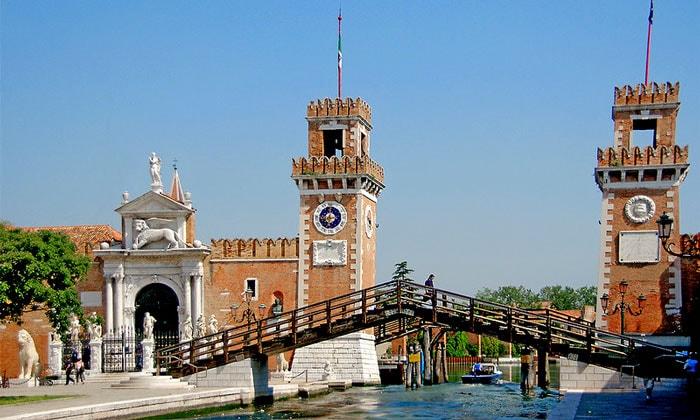 Арсенал (оружейный склад и судоверфь) в Венеции
