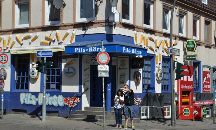 Бар «Pils-Borse» в Гамбурге