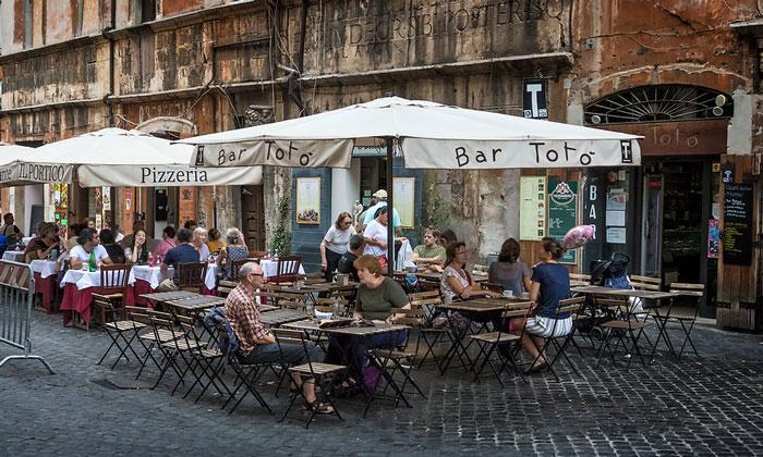 Бар Toto в Риме