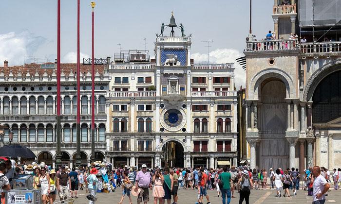 Часовая башня Святого Марка в Венеции