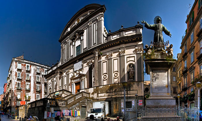 Базилика Сан-Паоло Маджоре в Неаполе