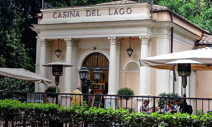 Кафе Casina del Lago в Риме