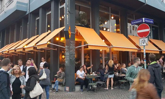 Кафе Eckstein в Дрездене