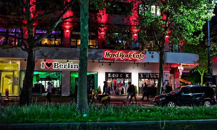 Кафе Hard Rock в Берлине