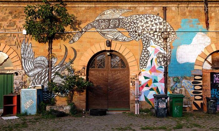 Центр Forte Prenestino в Риме