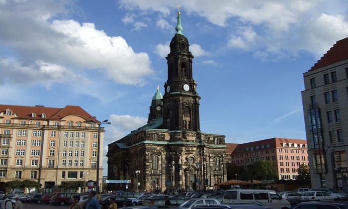Церковь Святого Креста в Дрездене