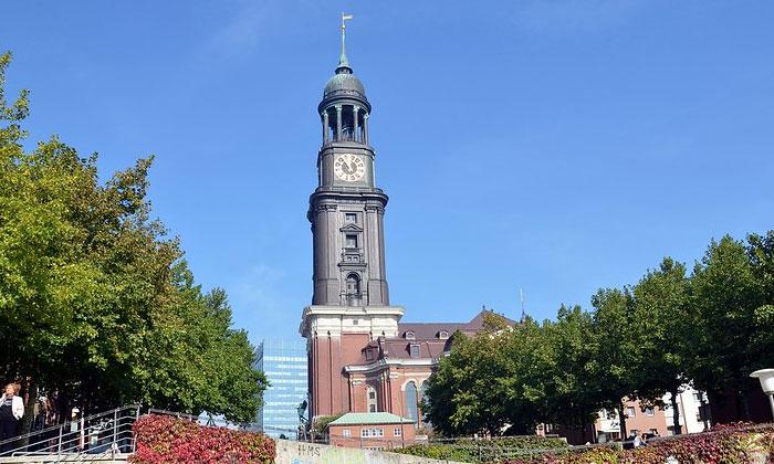Церковь Святого Михаила в Гамбурге