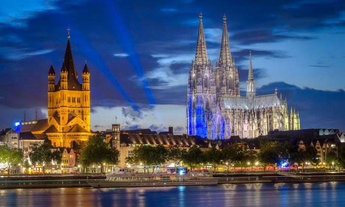 Большой Святой Мартин и Кафедральный собор Кёльна